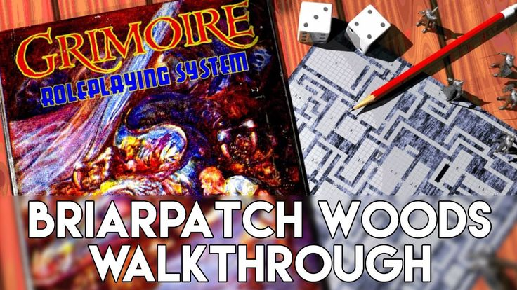 Grimoire Gameplay | Briarpatch Woods Walkthrough - Retro Old School Dung...