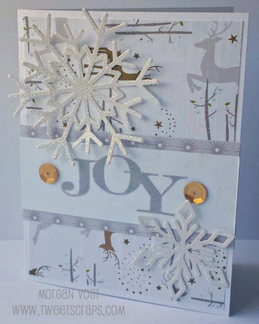 TweetScraps: October Card Workshop - Oh Deer! Christmas Cards
