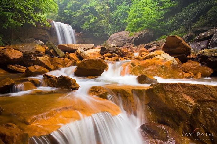 Douglas Falls, Blackwater Falls, West Virginia