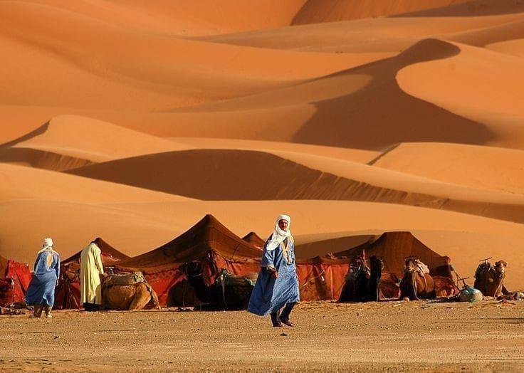 сегодняшнего картинки кочевников пустыни начала