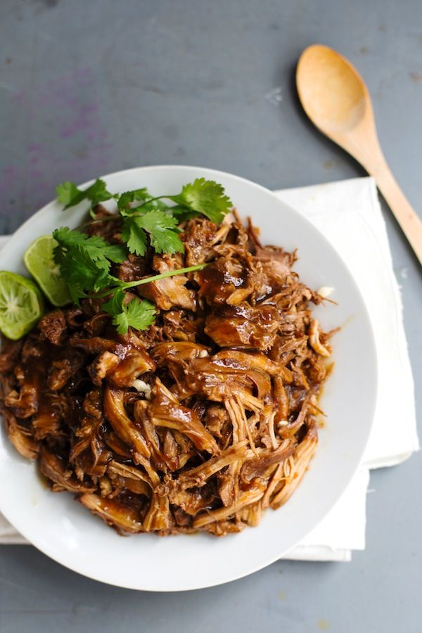 Honey Glazed Crockpot Chicken Adobo | Recipe | Chicken ...