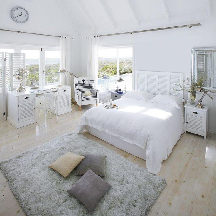 T Te De Lit 160cm Barbade Maisons Du Monde Cottage Bedroomswhite Bedroomsdream Bedroombedroom Ideasdecorationinterior