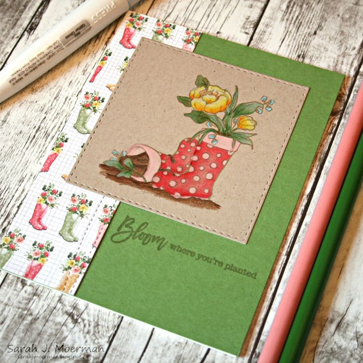 Hi everyone! Today is reveal day for the Simon Says Stamp March Card Kit and it has me dreaming of Spring! This month's kit...