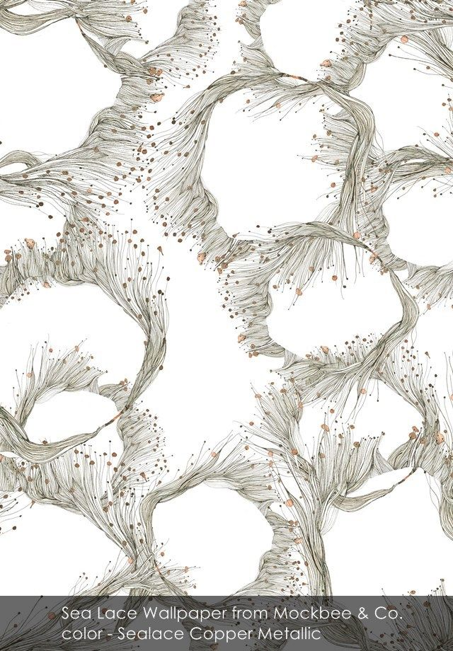 Sea Lace wallpaper from Mockbee