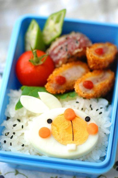 ゆでたまごウサギのおべんとう - てしぱんさんの簡単かわいいおべんとさん レシピブログ - 料理ブログのレシピ満載!