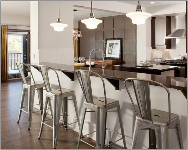 rustic-metal-bar-stools-with-backs