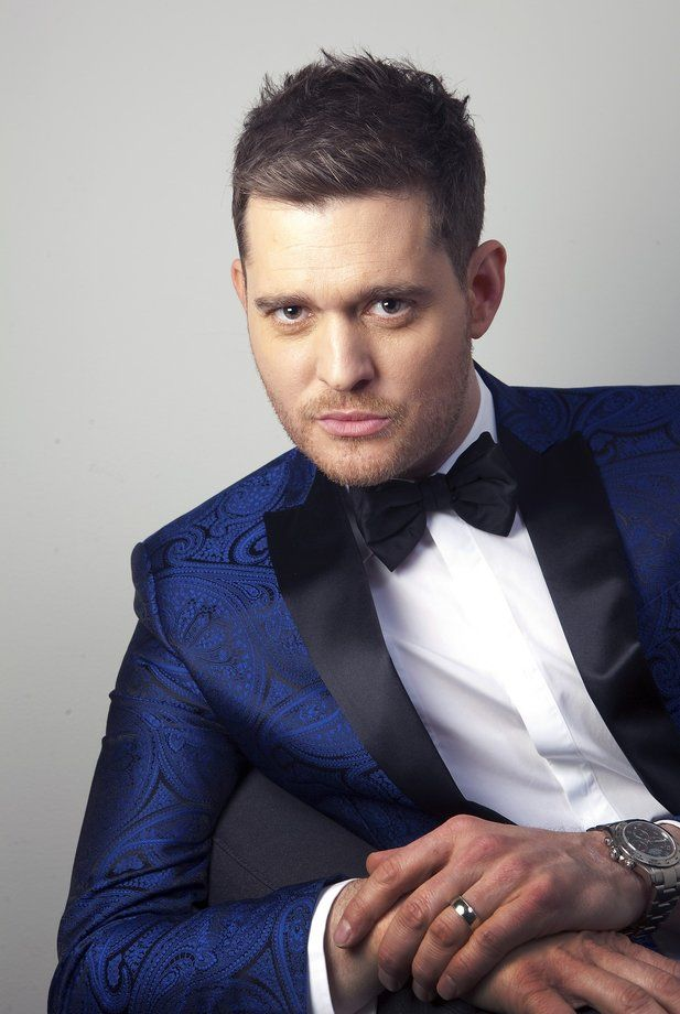 """Crooner Michael Buble says impending fatherhood helped him take risks on his new record, """"To Be Loved."""""""