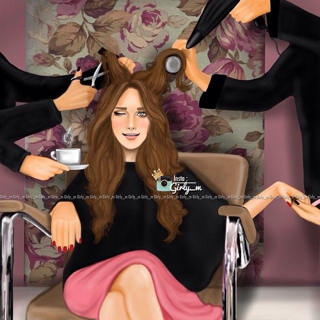 Beauty Farm and Tea / Centro di Bellezza e Tè - Art by girly_m, on Websta (Webstagram)