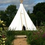 Glamping Kent with hot tub at Bloomsbury Biddenden