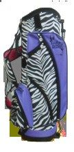 Birdie Babe Zsa Zsa Zebra Golf Stand Bag SlamGlam carries the widest selection of Birdie Golf Bags and Accessories at discounted prices. For a limited time Zsa Zsa Zebra Golf Bag includes set of zebra headcovers