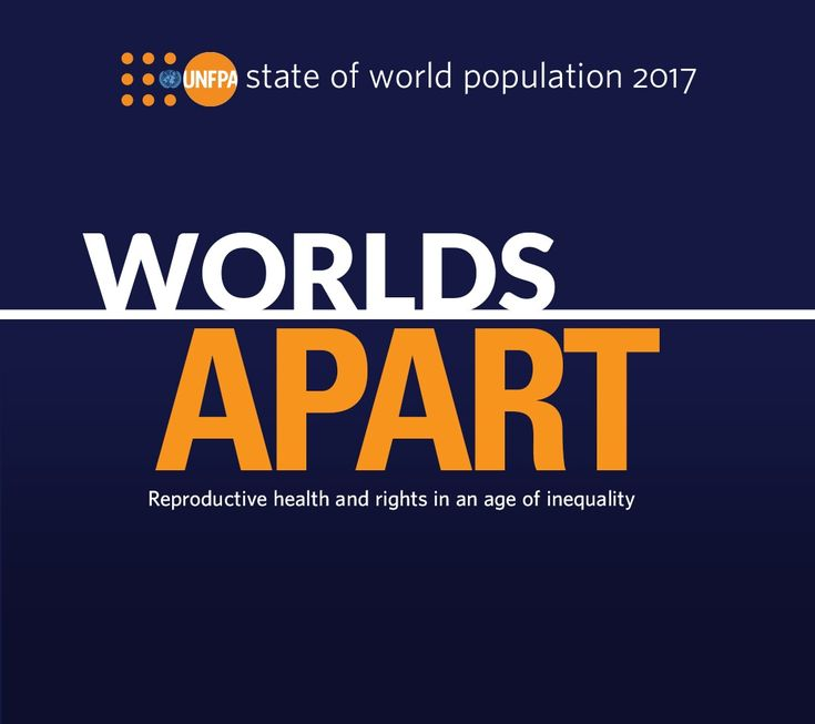 State of World Population 2017.   Reproductive health and rights in an age of inequality