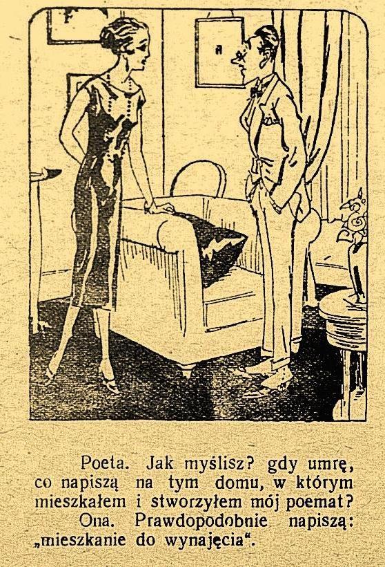Kabaret, tygodnik satyryczny, 27 stycznia 1930 #Poland #retro #vintage