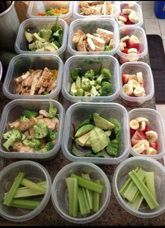 So much meal prep