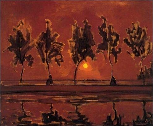 (+2) Нидерландский художник-абстракционист Пит Мондриан