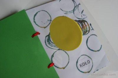 książeczka do nauki kształtów