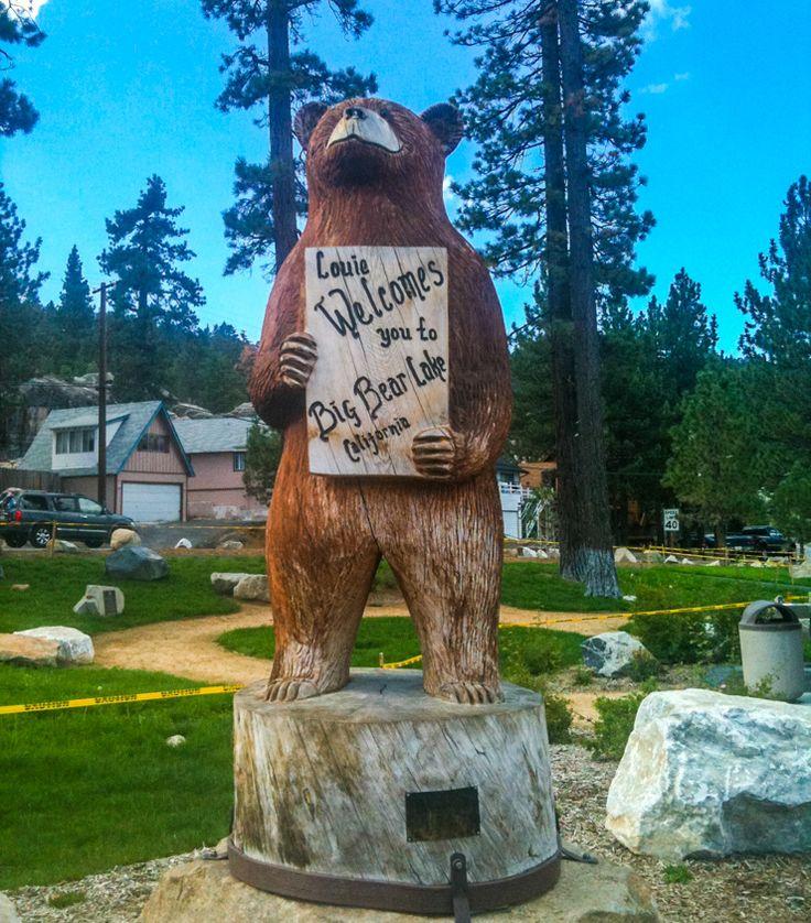 The Bear of Big Bear Lake, California