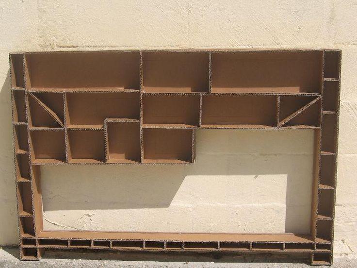 tutoriel table console de cuisine fonctionnelle tout en carton cr ations en carton cartonnage. Black Bedroom Furniture Sets. Home Design Ideas