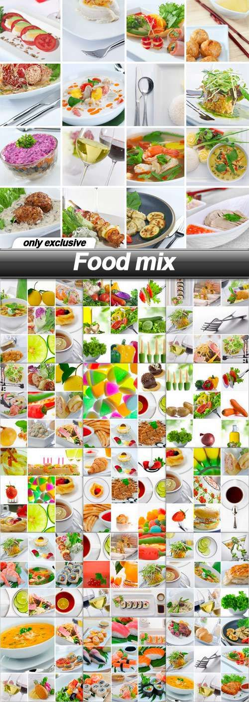 Food mix - 16 UHQ JPEG