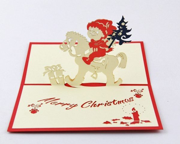 3D-pop-up-card-drawing-Christmas-card-Gift-Card