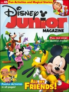 Cheap Magazine Subscriptions for Kids | Disney Junior for $13.99!