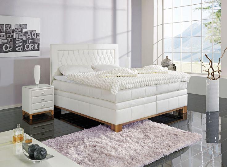 17 besten boxspringbetten bilder auf pinterest betten birkenstock und einrichtung. Black Bedroom Furniture Sets. Home Design Ideas