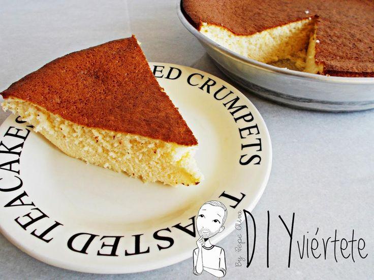 Soft Cotton Cake o Tarta de Queso Japonesa   Cocinar en casa es facilisimo.com