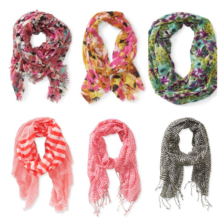 Aeropostale infinity scarfs!!! I want all of these soooo badly!!