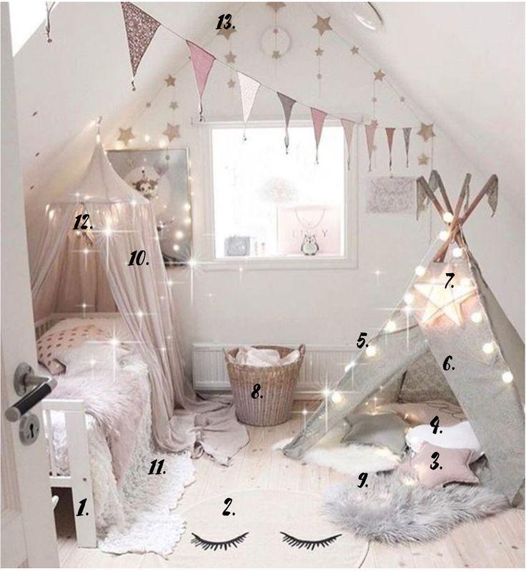Idées de décoration de chambre de filles - medodeal.com ...
