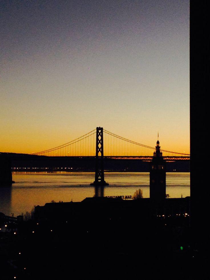 Awakening. Bay bridge San Francisco,CA. USA