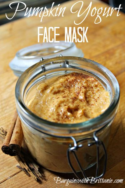 Pumpkin Yogurt Face Mask- Pumpkin is so good for your skin!