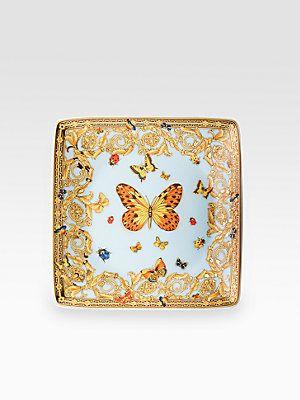 Versace Butterfly Garden Canape Dish