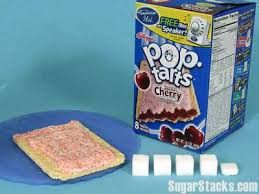 Image result for how much sugar is in cereal sugar stack