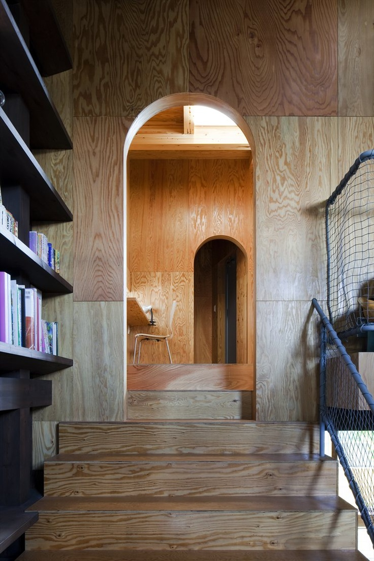House in Hamadera, #Sakai, #Osaka, 2010 #japan by Coo Planning #architecture #design #interiors #wood