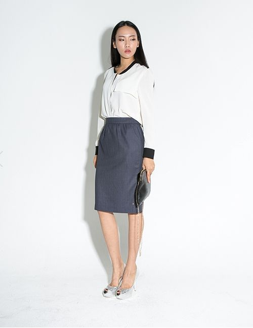 MIDDLE SHIRRING SKIRT http://arcloset.com/product_view.php?gs_idx=BO130086SK