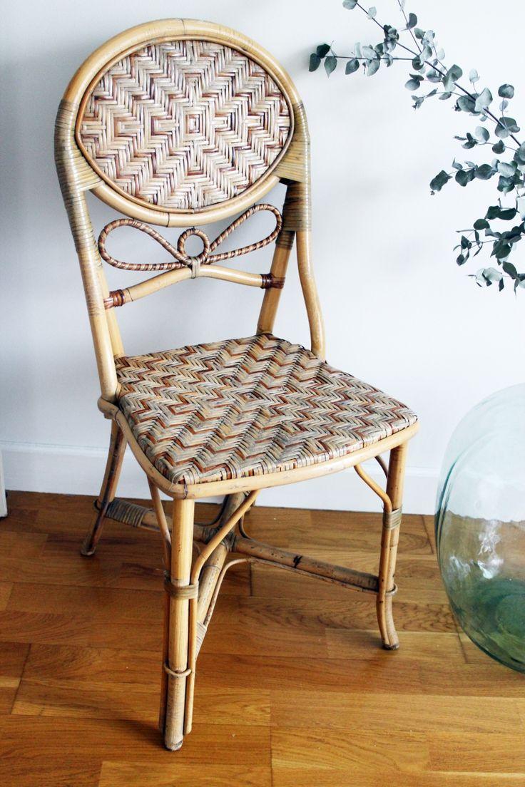 Les 25 meilleures id es concernant chaises en rotin sur for Chaise en rotin