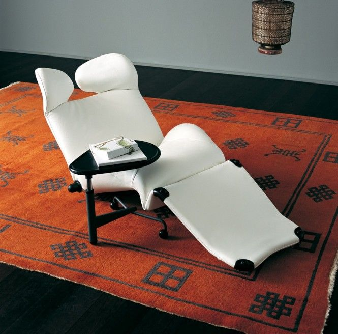 Wink Chair White Relaxer: Interior, Chairs, Recliner, Cassina, Furniture, Design, Wink Chair