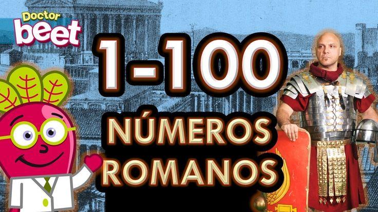 #numeros #romanos #roman #numerals #primaria #actividades #dedos #del #1 #al #50 #educacion #fechas #infantil #niños #para #reloj #romans #100