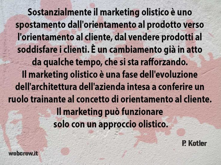 Il Marketing olistico di Philip Kotler