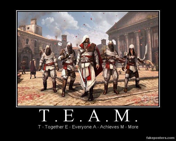 T E A M Assassin's Creed Brotherhood