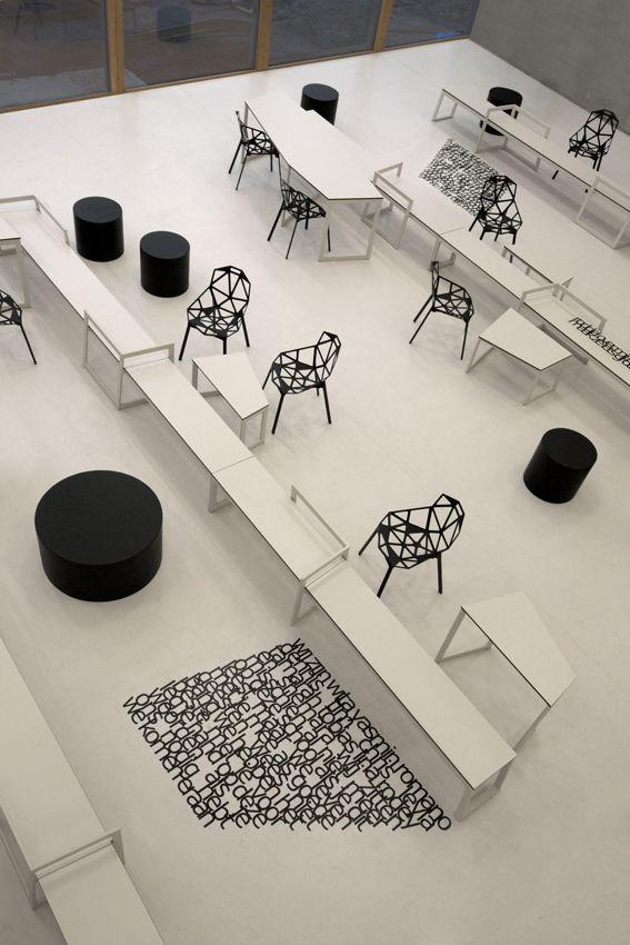 school 03 by i29 interior architects , via Behance