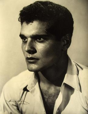 Omar Shariff, 1950- wow, I never saw a photo of him this young and without a mustache