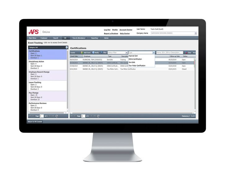 Cloud-Based Payroll Processing Services and Tax Compliance APS - employee performance reviews