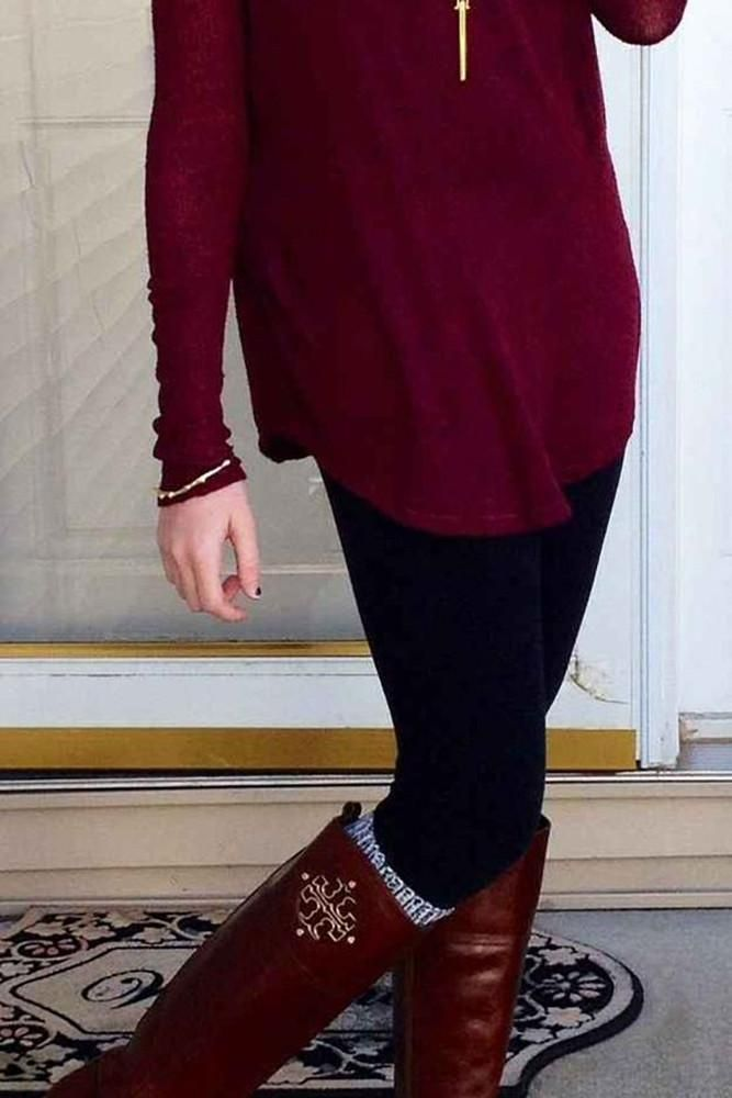 Women Super Soft and Warm Stretchy Stylish Fleece Leggings