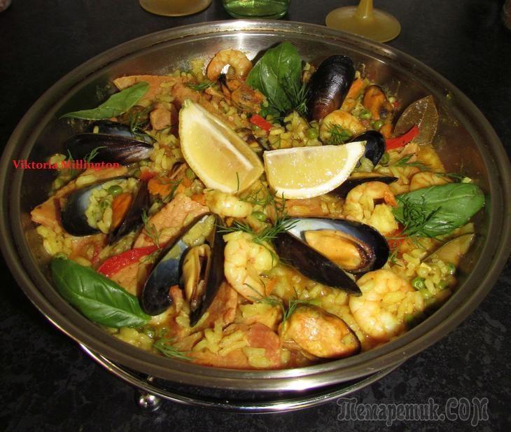 Паэлья ( испанская кухня)