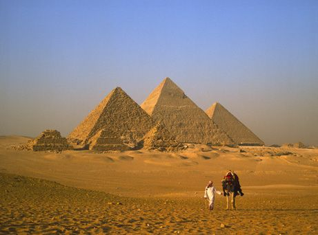 The Great Pyramid of Giza, Eygpt.