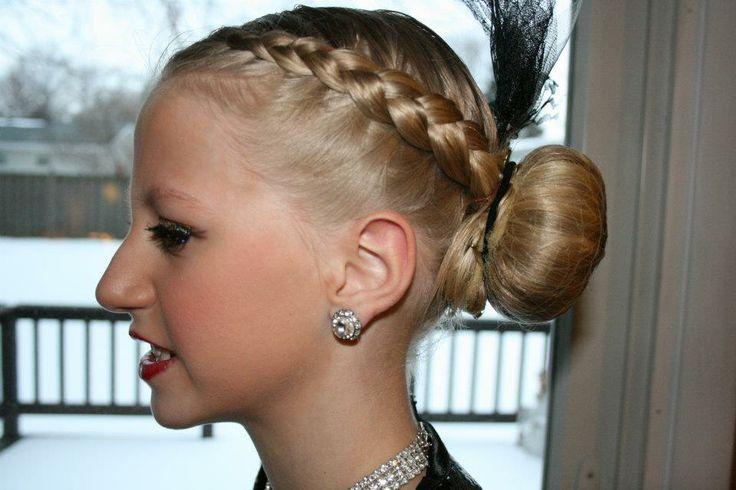 competition hair styles