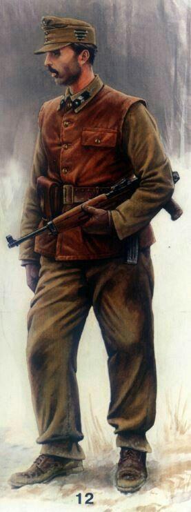 Hungarian paratrooper 1945