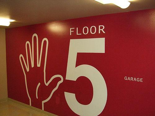Seattle Parking Garage - Floor 5 by Design Resources, via Flickr
