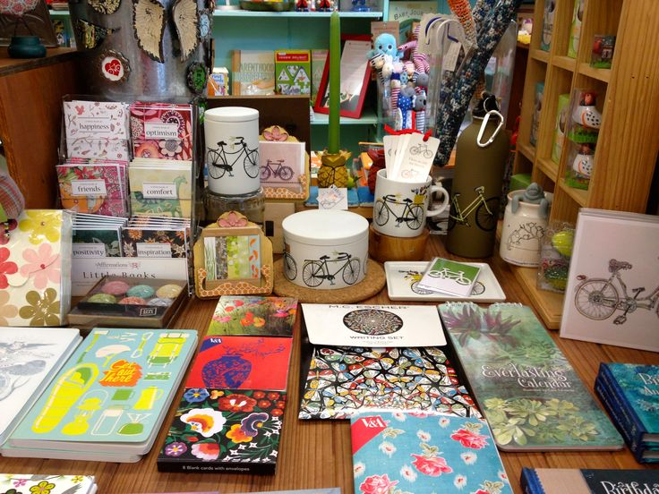 Card packs, inspirational books and journals ... lots of treats to help you write it all down!