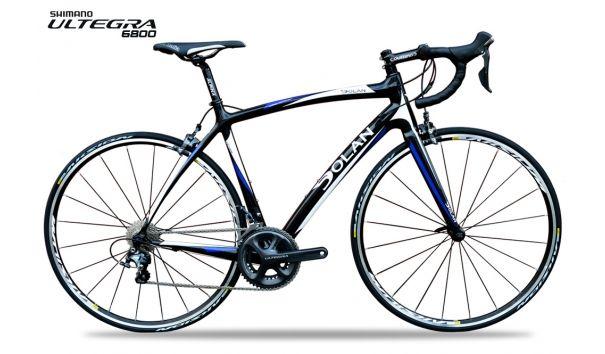 Dolan l'Étape Carbon Road Bike - Shimano Ultegra 6800 - Aksium One